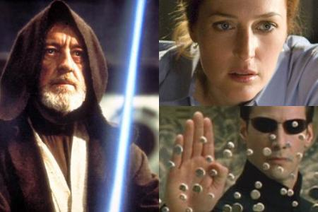 'Star Wars Episode IV: A New Hope,' 'The X-Files: I Want to Believe,' 'The Matrix'