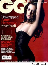 Anne Hathaway on the cover of GQ Magazine