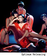 Scene from Dita Von Teese at Crazy Horse