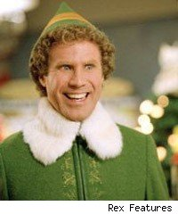 Will Ferell in Elf