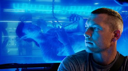 Sam Worthington in James Cameron's 'Avatar'