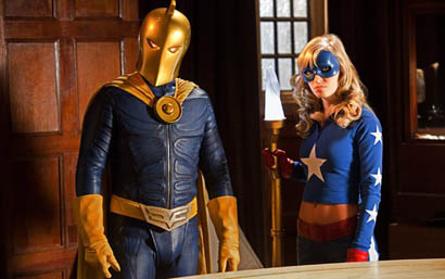 smallville absolute justice dr. fate stargirl