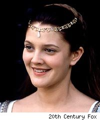 Drew Barrymore in 'Ever After'