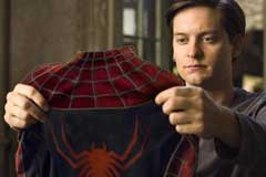 'Spider-Man 3' Tobey Maguire and Topher Grace: Spidey v ... Tobey Maguire Moviefone