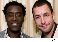 Don Cheadle and Adam Sandler