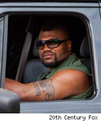 Quinton 'Rampage' Jackson in The A-Team