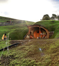 Image from the set of The Hobbit