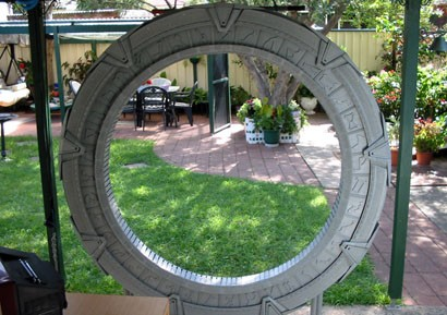 back yard stargate