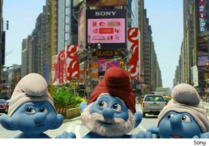 Image from The Smurfs Movie