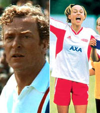 Escape to Victory and Bend it Like Beckham
