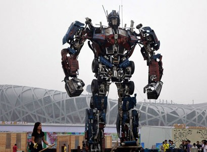 optimus prime china