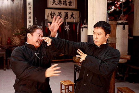 Sammo Hung and Donnie Yen in 'Ip Man 2'