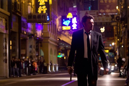 Johnny Hallyday in Johnnie To's 'Vengeance'