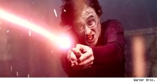 Harry Potter Wand Fight in Goblet of Fire