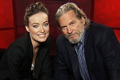 TRON: Legacy Unscripted interview with Jeff Bridges and Olivia Wilde