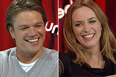 'The Adjustment Bureau' Unscripted Interview with Matt Damon and Emily Blunt