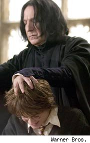 Alan Rickman as Professor Snape