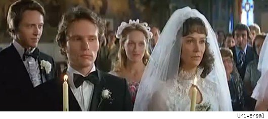 Four Weddings And A Funeral 1994 When Charles Hugh Grant Finally Decides To Tie The Knot It S In Most Formal English Society Style