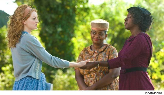 The Help starring Emma Stone, Viola Davis and Octavia L. Spencer