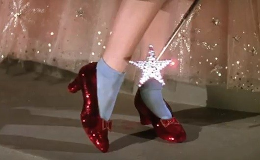 Dorothy's Ruby Slippers Auction: 'Wizard of Oz' Shoes Available to ...
