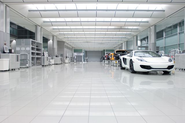 cleanliness is next to godliness: autoblog visits mclaren - aol