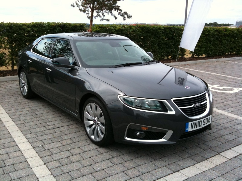 Live from the launch: Saab 9-5 - AOL UK News