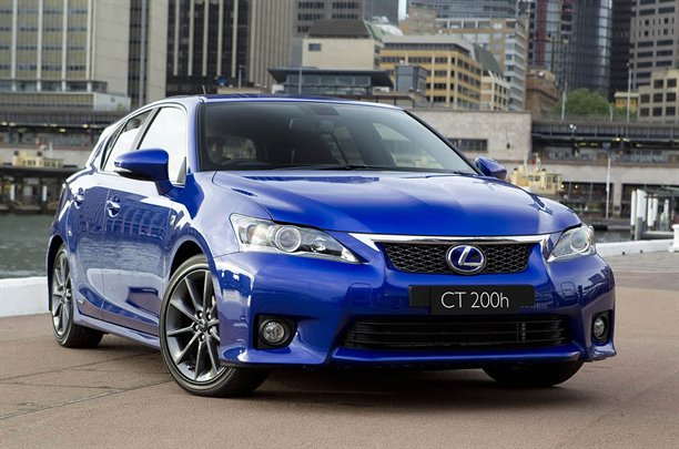 Lexus reveals ct200h f sport in sydney aol lexus has used the australian motor show to launch an f sport package for its new ct200h hybrid publicscrutiny Images