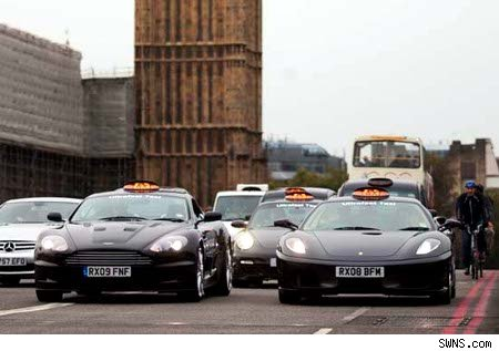 Supercar Taxis For London Travellers Aol Uk News