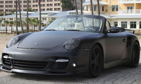 Beckham's modded Porsche 911 Turbo for sale on eBay - AOL