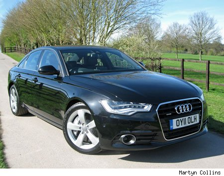 First UK Drive Audi A TDi Quattro SE AOL - Audi uk