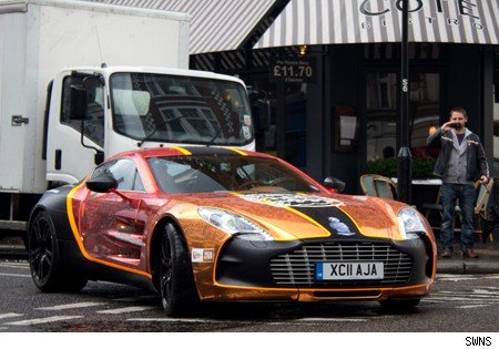 Apparently The 1 2m Supercar Was Stopped After Doing Around 200kph 124mph In A 130kph 81mph Zone Which Means He Was Very Close To Losing His Keys To