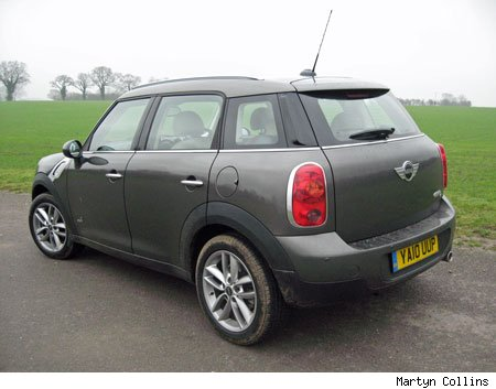 For Example Considering The Tall Ride Height Countryman Corners Surprisingly Flat With Very Little Roll All4 Four Wheel Drive There S Plenty