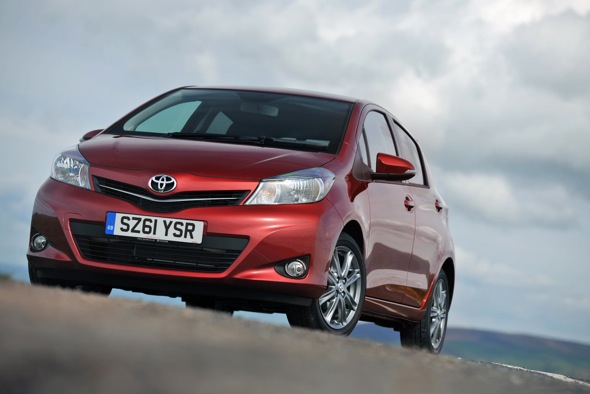 Toyota Yaris to set emissions low