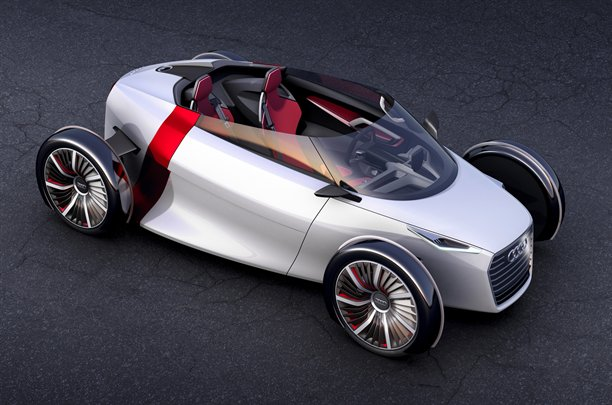 Audi Urban Concept roof down