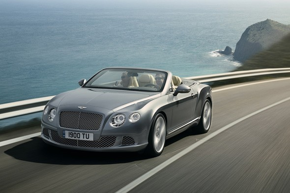 New Bentley Continental convertible