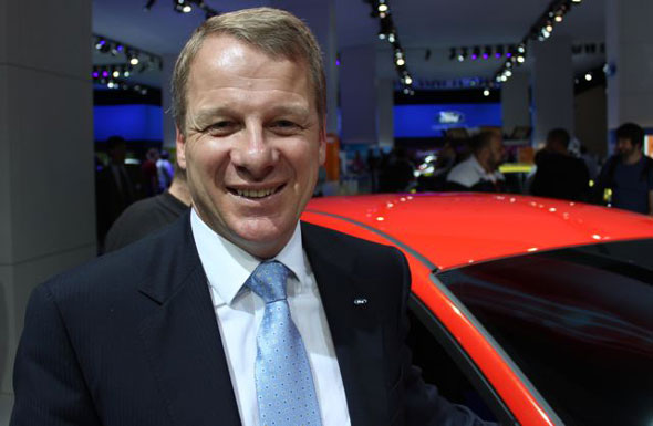 Ford of Britain Managing Director Mark Ovenden
