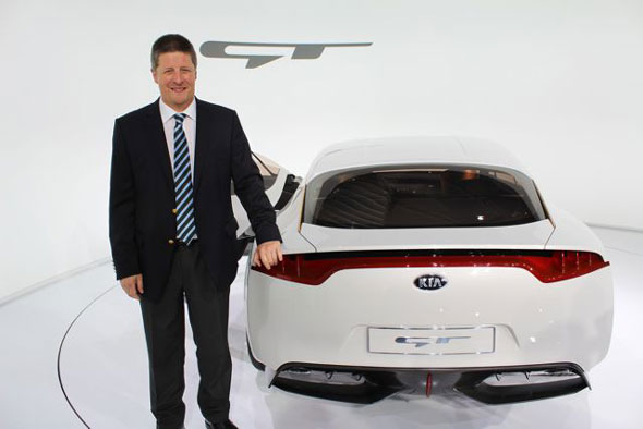 Benny Oeyen, vice president for marketing and product planning at Kia Motors Europe