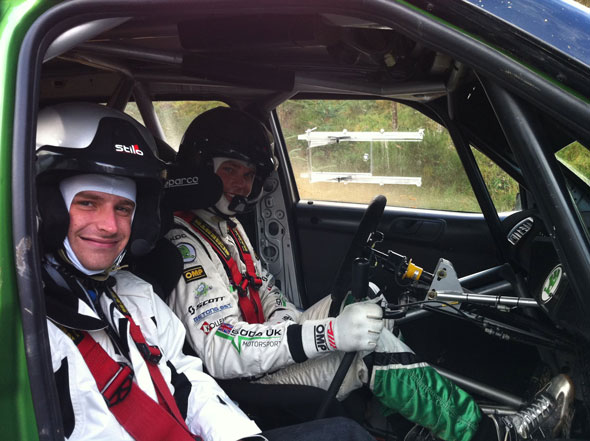 Alex Fisk and Andreas Mikkelsen