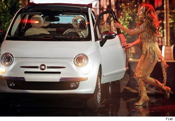 J-Lo and Fiat 500