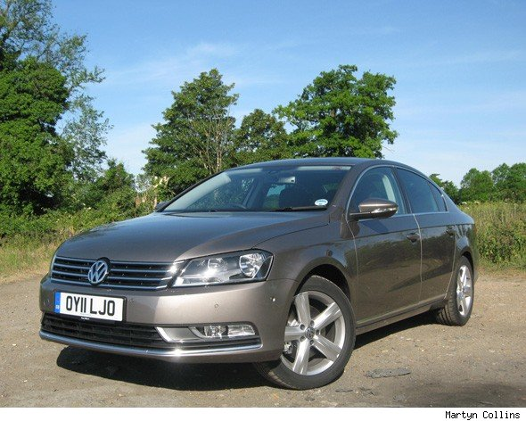 volkswagen passat 2 0 tdi bluemotion se road test aol. Black Bedroom Furniture Sets. Home Design Ideas