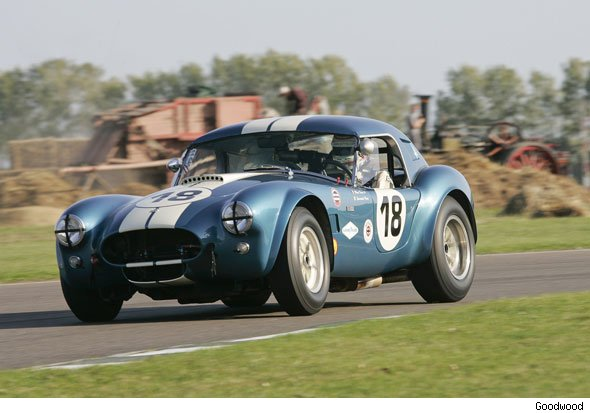AC Cobra racing