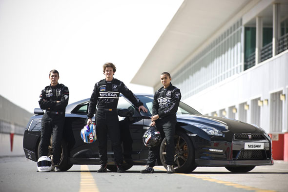 Nissan GT Academy drivers