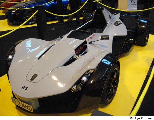 Video BAC Mono A Supercar Highlight At The Performance Car Show - Sports cars 80 000