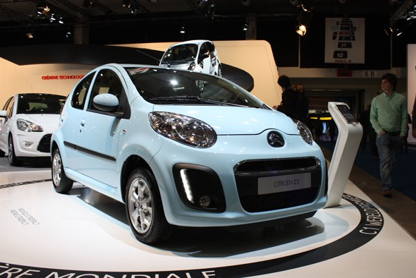 Brussels Motor Show: Citroen C1, Toyota Aygo and Peugeot 107 - AOL