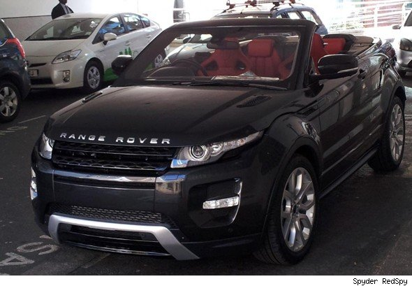 exclusive pictures range rover evoque convertible spotted aol uk cars. Black Bedroom Furniture Sets. Home Design Ideas