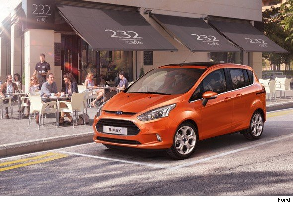 Ford B-Max revealed