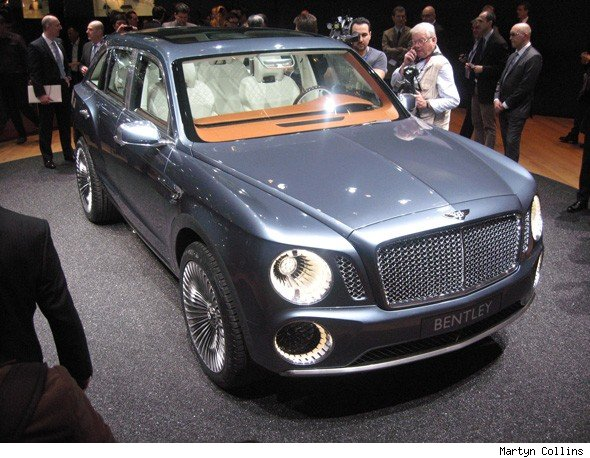 Geneva Motor Show: Bentley\'s shock SUV, the EXP 9 F - AOL