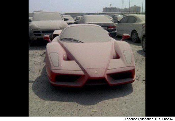 Abandoned Supercars In Dubai Auction Image Gallery Hcpr