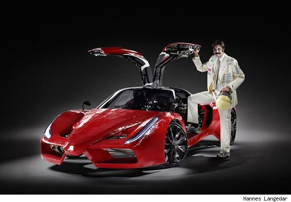 Amazing New Gullwing Supercar Powered By You Aol Uk Cars