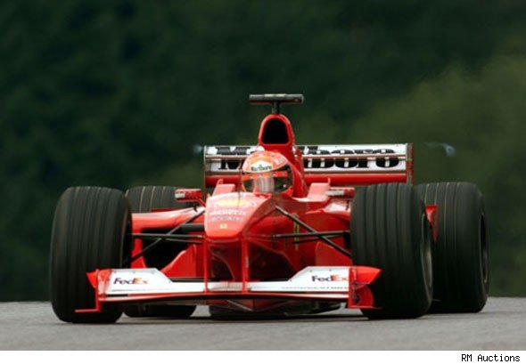Historic Schumacher Ferrari F1 car for sale - AOL